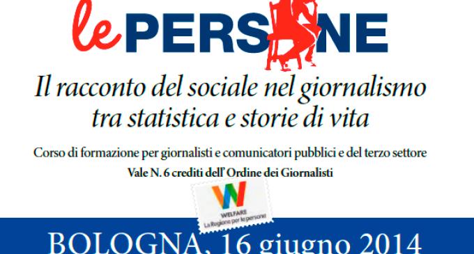 Il racconto del sociale nel giornalismo, tra statistica e storie di vita