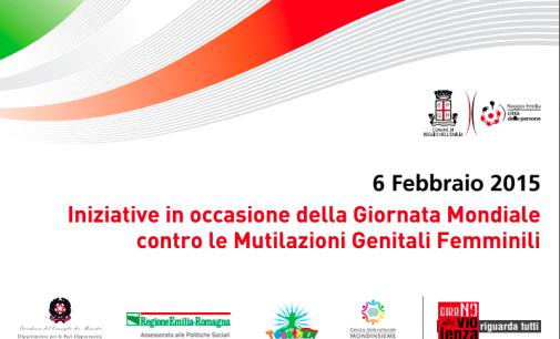 Reggio Emilia per la giornata mondiale contro le MGF