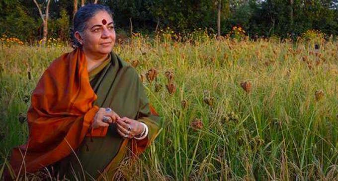 Vandana Shiva: Le multinazionali vengono a Expo per nutrire loro stesse, non il pianeta